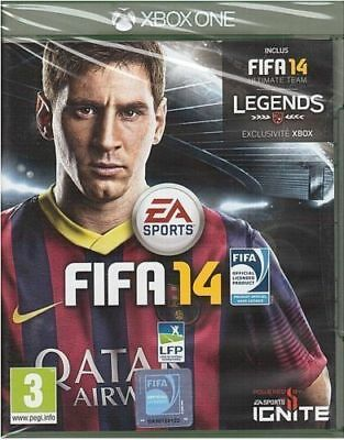 Fifa 14  Xbox One / Neuf / Sous Blister / Vers. Fr