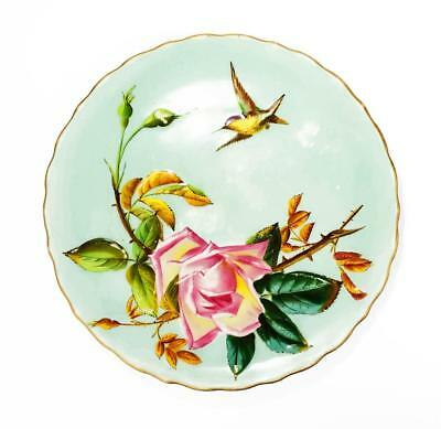 AESTHETIC MOVEMENT GEORGE JONES & SONS Moulded PORCELAIN PLATE c1880