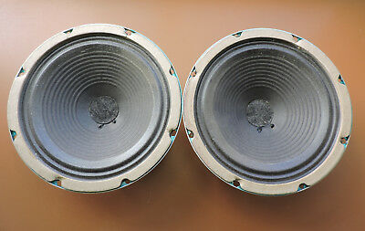 """Stromberg Carlson 8"""" Speakers (2) RC 27 * 155718 * 6-8 Ohm - Tested & Working"""