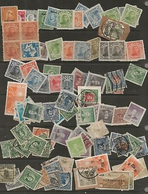 China     Small  Lot  Of   Early  Stamps