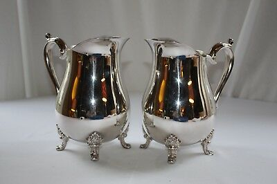 Antique Silver Water Pitcher (Set of 2)
