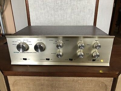 Dynaco PAS-3X High End Tube Preamplifier Preamp, Repaired, Serviced, Updated!