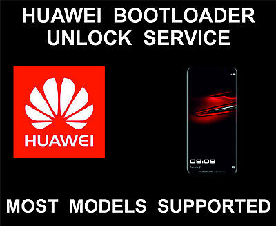 Huawei Bootloader Remote Unlock Service, For Huawei All Models, P20, Mate, Nova
