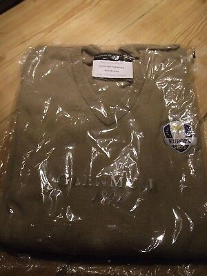 Genuine 2012 Ryder Cup Team Issue Jumper XXL