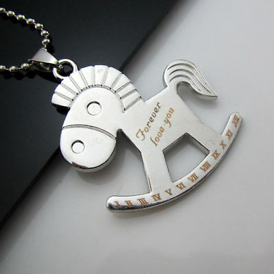 Pendant New Necklace Cool Stainless Steel Trojans Gift Unisex's Men's Chain Free