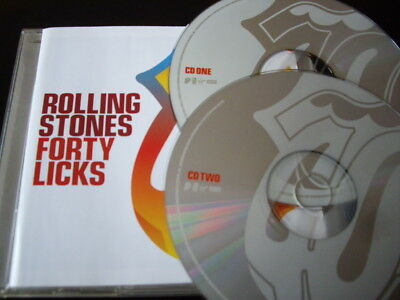 Rolling Stones - Forty Licks 2-Cd 40 Greatest Hits Singles Very Best Of Nr Mint