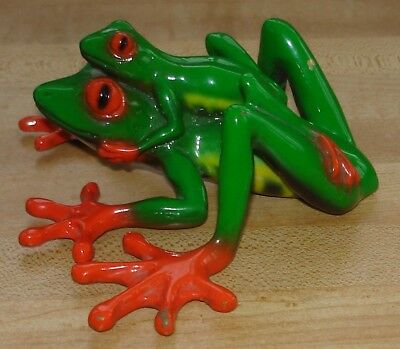 Barry Stein Bronze Green Hitchhiker Frog - 2006 - #3/1000
