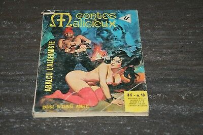 Livre Contes Malicieux N°13.