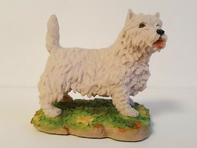 Westie Arista Designs Scotland West Highland White Terrier Artist Signed