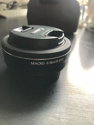 Used Canon EF-S 24 mm f/2.8 STM Lens + UV Filter