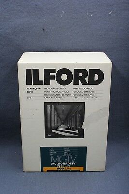 Ilford Cat 177-1934 MGIV Multigrade IV RC Deluxe MGD 25M 5x7 Paper - Open/Used