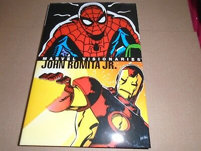 MARVEL VISIONARIES - JOHN ROMITA JR. Oversized Hardcover OHC