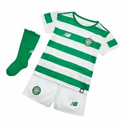 New Balance Celtic FC 2018/19 Junior Infant Home Football Kit Size 4-5 Years/110