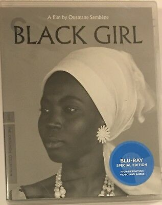 Black Girl (Criterion Collection) Blu-ray 4K Mastering Restored NEW Sealed