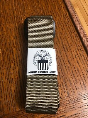US Military Riggers Belt, 8415-01-630-9498, Size: 40, Tan, New!