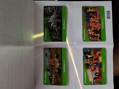 4 (FOUR) Walt Disney World 1 Day Park Hopper Passes Tickets EXPIRE Mar 12 2019