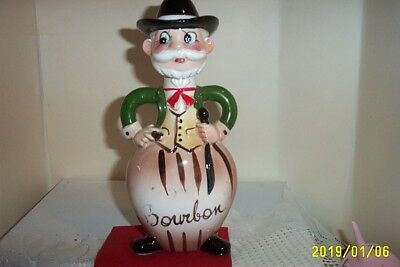 Vintage Davar Products Bourbon Liquor Decanter  Japan