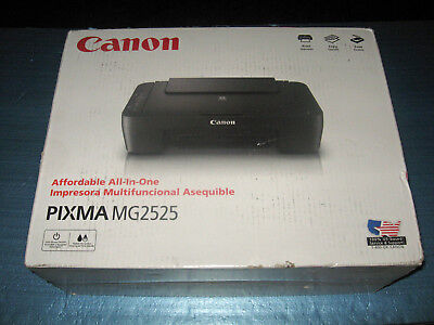 Canon Pixma Mg2525 All In One Color Inkjet Photo Printer Scanner