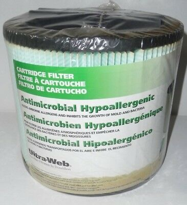 NEW SHOP-VAC Antimicrobial Hypoallergenic Cartridge Ultra Web Filter 87704-78