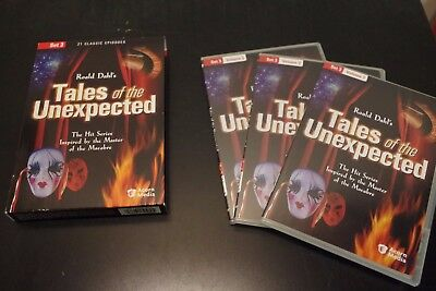 Roald Dahl's Tales of the Unexpected (DVD, 2005) Volume 3 / Very Rare