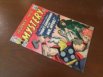 Journey into Mystery #100 - BEAUTIFUL - Mr Hyde - Thor - Marvel 1964