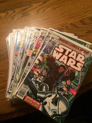 Vintage Star Wars Comics Lot Marvel Bronze Age VF/NM Avg 70's-80's First Prints