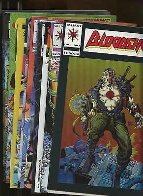 Bloodshot 1, Second Life of Doctor Mirage 1, C-23 1, Shadowman 7 +MORE! *12 Bks*
