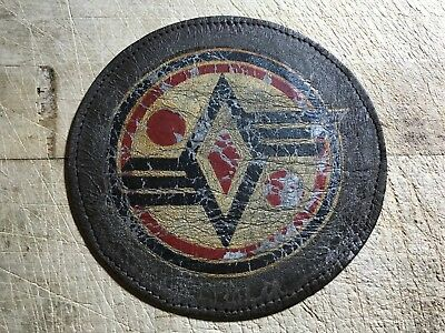 WWII/WW2 US ARMY AIR FORCE PATCH-113th Observation Squadron-ORIGINAL LEATHER!