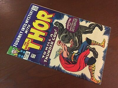 Journey into Mystery #118 - BEAUTIFUL - 1st App Destroyer - Thor - Marvel 1965