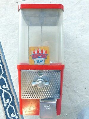Vintage 10 cent Advance Gumball Candy Machine