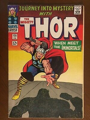Journey into Mystery #125 - BEAUTIFUL - Thor - Marvel 1966
