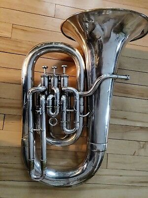 Salvation Army Class A Euphonium Vintage **1890s** FREE SHIPPING USA-48 & CAN!