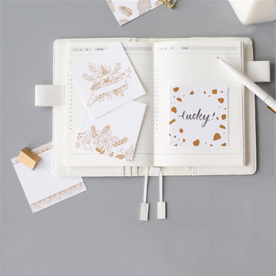 Creative Japanese-style Notebook Writing Memo Pad Office Girl School Supplies Scrapbook Stickers Kids Stationery Note Page Flags Clear-Cut Texture Notebooks & Writing Pads