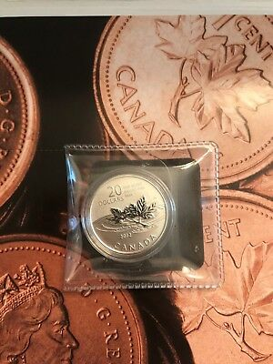 CANADA 2012 $20 for $20 SILVER COIN FAREWELL PENNY WITH RCM COA CARD
