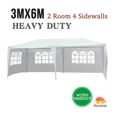 10'x20' Heavy Duty Outdoor Canopy Party Wedding Tent Gazebo Pavilion Cater Event