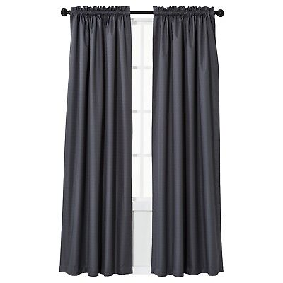 Eclipse 84 Inch Rod Pocket Room Darkening Curtain Panel 42x84 Pink