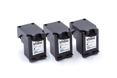 3x Cartuccia d'inchiostro nero per HP Officejet: 3800 Series / 3830 / 4650