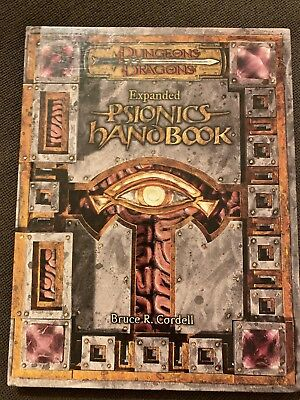 Dungeons & Dragons 3.5 Edition Expanded Psionics Handbook