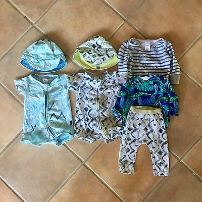 Baby Boys Bonds Print Bundle - Size 000 / 00 (0-6 Months)