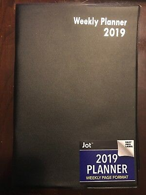 """2019 Weekly Appointment Planner - Calendar Day-Timer 5"""" x 7.5"""""""
