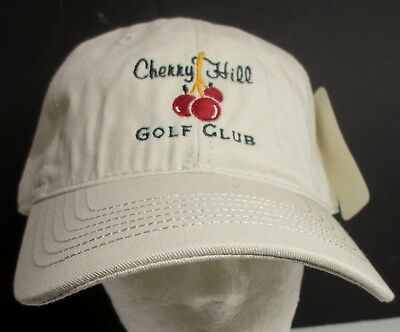 181290eaa48 Cherry Hill Hat Ball Cap Country Club Golf Indiana USA Embroidery Unisex New