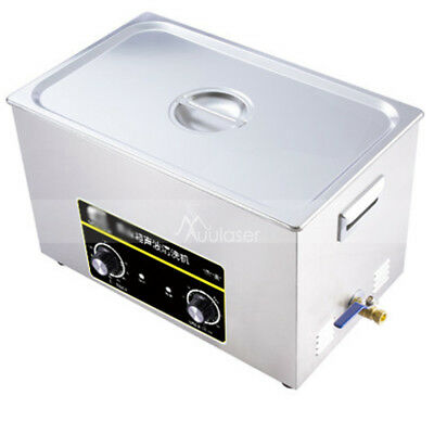 Ultrasonic Cleaner Glass Watch Ring Jewelry Cleaning Mini Home Use Machine 3.2L