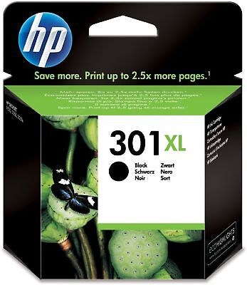 Genuine HP 301XL Ink Cartridge Black for HP Envy 4500 4502 4504 e-All-in-One