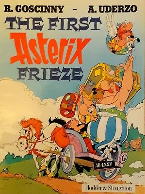 The First Asterix Frieze 1985 Hodder & Stoughton