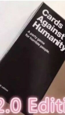 Cards Against Humanity UK V2.0 Edition Brand New Sealed 600 NEW Cards Fast Ship