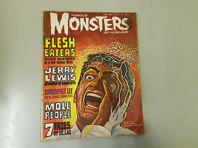 FAMOUS MONSTERS OF FILMLAND MAGAZINE - No. 29  - 1964
