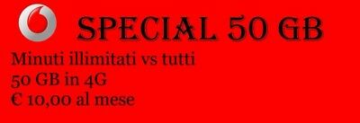 Coupon Vodafone - Special 50gb