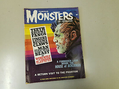 FAMOUS MONSTERS OF FILMLAND MAGAZINE - No. 24 - 1963