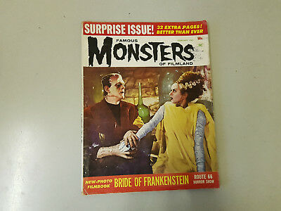 FAMOUS MONSTERS OF FILMLAND MAGAZINE - No. 21 - 1963