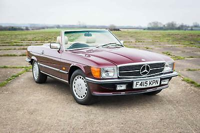 1989 Mercedes-Benz R107 300SL - 7,714 Miles / FSH / Incredible Opportunity
